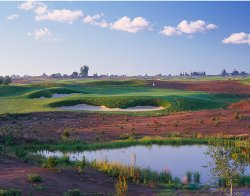Ridge Creek Golf Club, Dinuba, CA - Hole #16 -